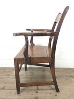 Antique 19th Century Welsh Oak Farmhouse Chair (9 of 10)