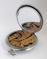 1930s Art Deco pocket watch. (4 of 5)