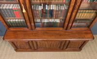Fine Quality Figured Mahogany Library Bookcase (14 of 17)