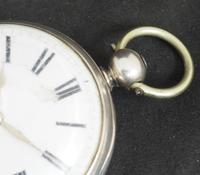Antique ChrAntique Silver Open Case Pocket Watch Fusee Verge Escapement Key Wind F Hiahams Canterburyonograph Pocket Watch Sweeping Stop Start Seconds Hand Swiss Made Key Wind. (11 of 12)