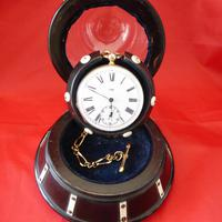 19th Century Lignum Vitae Pocket Watch Holder (5 of 5)