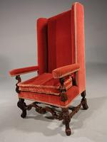 Good Quality Early 20th Century High Backed Mahogany Framed Chair (2 of 5)