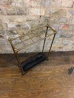 Brass & Steel Umbrella Stand (2 of 5)