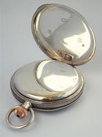 Antique 1911 Silver Waltham Bond Street Pocket Watch (5 of 5)