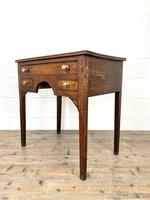 Early 19th Century Oak Side Table or Lowboy (7 of 10)