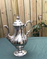 Georgian Silver Plated Coffee Pot (4 of 6)