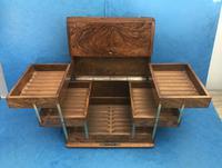 Victorian Brassbound Walnut Cigar Box (7 of 19)