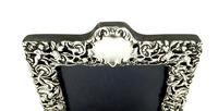Antique Victorian Sterling Silver Photo Frame 1900 (7 of 10)
