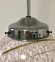 Art Deco Glass Pendant Light (7 of 11)