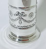 Antique Solid Silver Sugar Caster with Glass Liner (9 of 10)