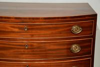 Regency Period Bow Fronted Chest of Drawers (2 of 8)