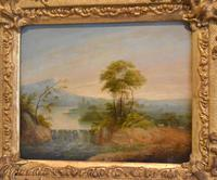 Late Georgian Landscape Oil Painting (6 of 7)
