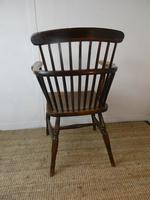Early 19th C English Comb Back Windsor Chair (5 of 7)