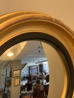 Small Antique Convex Mirror (2 of 5)