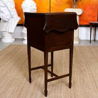 Chest of Drawers Mahogany Bowfront Drop Leaf 19th Century Petite (11 of 11)