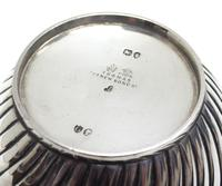 Antique Solid Silver Plant Pot or Bowl with Gilt Lining c.1882 (3 of 7)