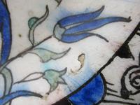 Iznik Pottery Dish c.1600 (3 of 9)