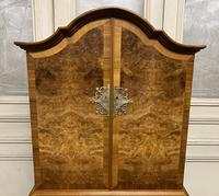 Burr Walnut Cupboard Over Chest (15 of 15)