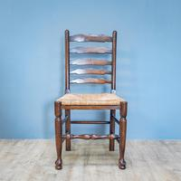 Refectory Table and 8 Ladderback Chairs (11 of 11)