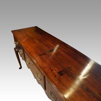 Fine George III Oak Cabriole Leg Dresser (2 of 8)