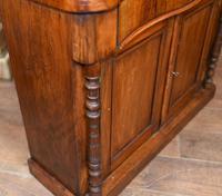 Victorian Chiffonier Sideboard Antique Mahogany c.1860 (5 of 8)