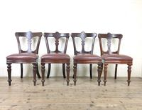 Set of Four Victorian Mahogany Dining Chairs (2 of 7)