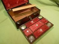 Inlaid Rosewood Jewellery – Vanity Box c.1860 (8 of 14)
