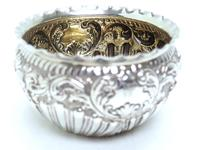 English Victorian Antique Solid Silver Tea Set, Embossed Decoration c.1890 (3 of 11)