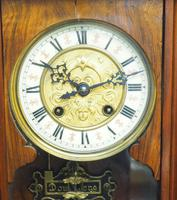 Wow! Antique German Spring Driven Striking 8-day Vienna Wall Clock by Gustav Becker (2 of 13)