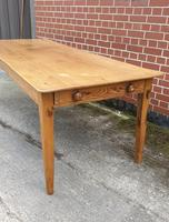 French Fruitwood Kitchen Dining Table (3 of 15)