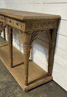 Wonderful French Walnut Console Table (9 of 36)