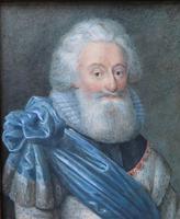 Miniature Portrait 2nd Lord Fairfax English Civil War (4 of 6)