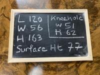 Queen Anne Burr Walnut Kidney Dressing Table (17 of 17)