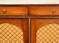 Regency Goncalo Alves Chiffonier / Side Cabinet (4 of 7)