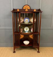 Shapland and Petter Arts and Crafts Display Cabinet
