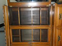 Arts & Crafts Oak Bookcase (6 of 8)