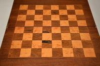 Antique Victorian Walnut Games / Chess Table (8 of 12)