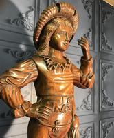 Italian Carved Hardwood Figure of a Boy (5 of 23)