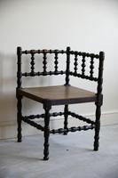 Antique Turned Corner Chair (7 of 8)