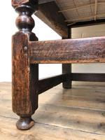 18th Century Panelled Oak Settle (6 of 10)