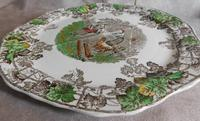 1930's Spode Byron Series No1 Sandwich Plate by Copeland (4 of 7)