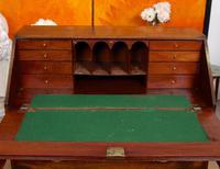 Georgian Bureau Mahogany 18th Century Writing Desk Chest (4 of 12)