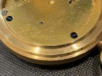 18ct Full Hunter Pocket Watch by Rotherham's of London (11 of 12)
