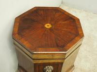 George III Inlaid Mahogany Octagonal Wine Cooler (2 of 11)