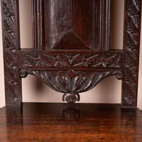 Carved Oak High Backed Side Chair (9 of 9)