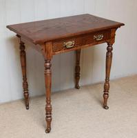 Late 19th Century Ash Side Table (5 of 10)