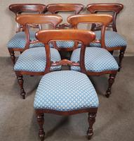 Set of Six Mahogany Dining Chairs In The Victorian Style (10 of 10)