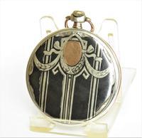 Beautiful Niello-ware Pocket Watch (2 of 6)