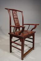 An Early 20th Century Oriental Elbow Chair (6 of 7)
