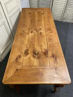 French Fruitwood Farmhouse Dining Table (3 of 15)